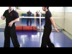 Cómo hacemos el sparring para primer grado de Wing Tsun