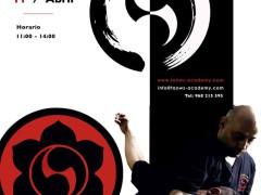 Curso de Escrima (Wayne Tappin) y Wing Tsun (Sifu Salvador) en Madrid