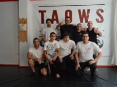 Entrenando en otras escuelas de TAOWS: TAOWS Jerez