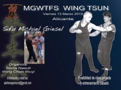 Curso sifu Michael Griesel Alicante. Viernes 13 de Marzo