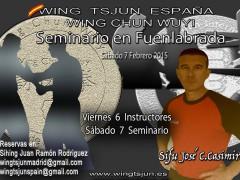 Seminario Sifu José C. Casimiro en Madrid. Febrero.