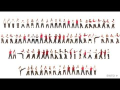 Chum Kiu hecho por varias personas: vídeo curioso