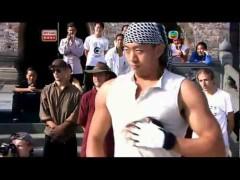 Vídeo de sparring con kung fu en China