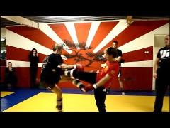 Vídeo de su primera pelea usando Wing Chun