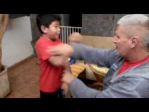 Michael Griesel: Wing Tsun con un niño