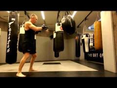 Trabajo de saco en Wing Chun por Aaron