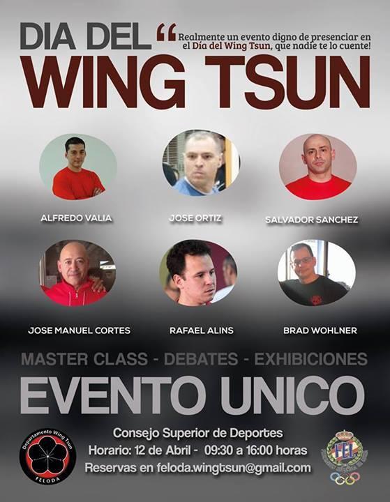 12 de Abril, día del Wing Tsun en el Consejo Superior de Deportes