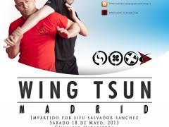 Curso de Sifu Salvador en Madrid: 18 de Mayo