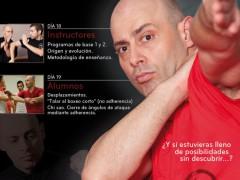 Actualización: Cartel del curso de Sifu Salvador en Madrid