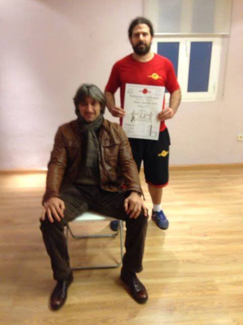 Sifu Ignacio de EBMAS en Madrid 4 grado técnico