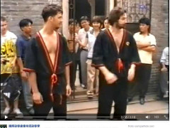 Demostración de Sifu Norbert Maday en 1998 en China