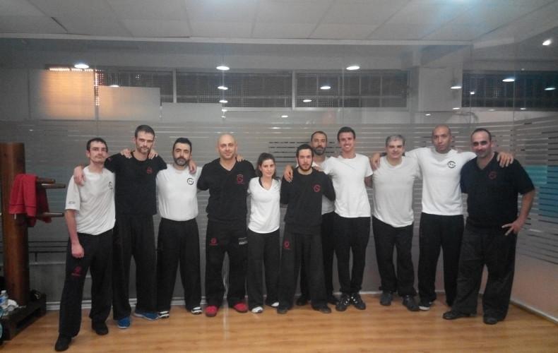 Reseña del curso de sifu Salvador Noviembre 2014