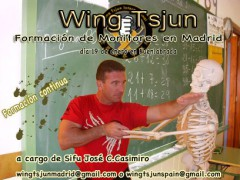 Formación de instructores Wing Tsjun