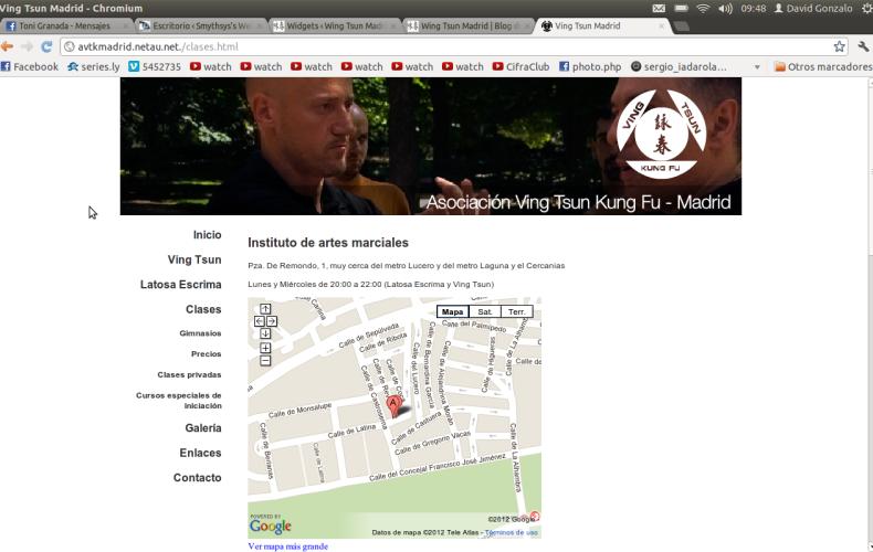 Ving Tsun Madrid cambia de web