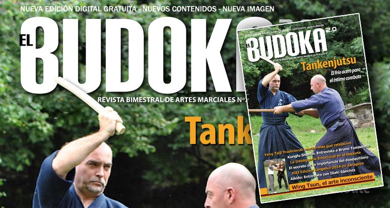 Revista el Budoka con 2 artículos de Wing Chun