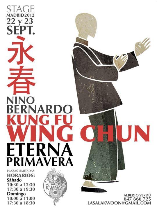 Actualización cartel del seminario de Nino Bernardo