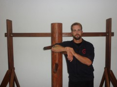 Claudio Trigo: instructor en TAOWS Cádiz.