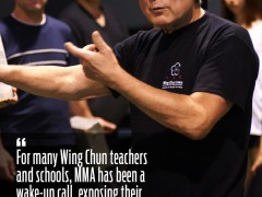 El placer de PELEAR en Wing Tsun