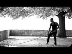 Bonito vídeo de sifu Macin haciendo la forma de palo largo