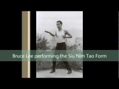 Bruce Lee haciendo Siu Lim Tao